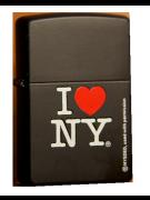 Зажигалка Zippo I Love NY Black