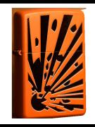 Зажигалка Zippo Orange Explosion