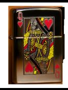 Зажигалка Zippo Queen of Hearts Фото 1