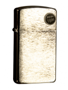 Зажигалка Zippo Slim Brushed Finish Chrome Фото 1
