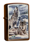 Зажигалка Zippo Два Волка