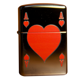 Зажигалка Zippo Ace of Hearts Фото 2