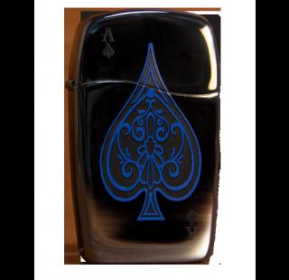 Зажигалка Zippo Blue Ace LTR Фото 1