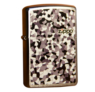 Зажигалка Zippo Broken Glass