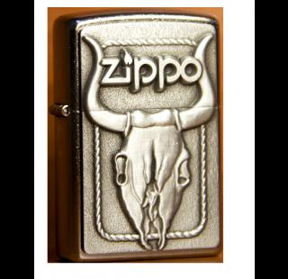 Зажигалка Zippo Bull Skull Фото 1