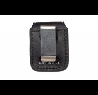 Чехол для Zippo черный вид сзади
