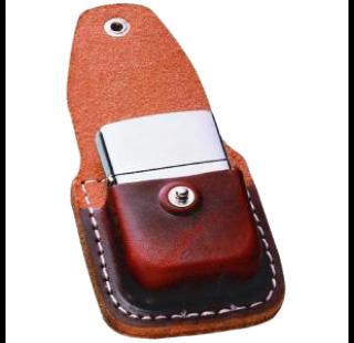 Чехол для зажигалки Zippo коричневый