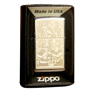 Зажигалка Zippo Flower упаковка