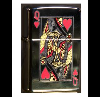 Зажигалка Zippo Queen of Hearts Фото 2