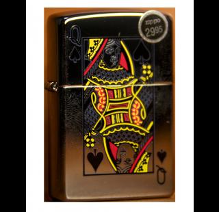 Зажигалка Zippo Queen of Spades