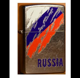 Зажигалка Zippo Флаг России