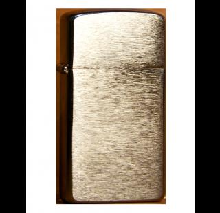 Зажигалка Zippo Slim Brushed Finish Chrome Фото 2